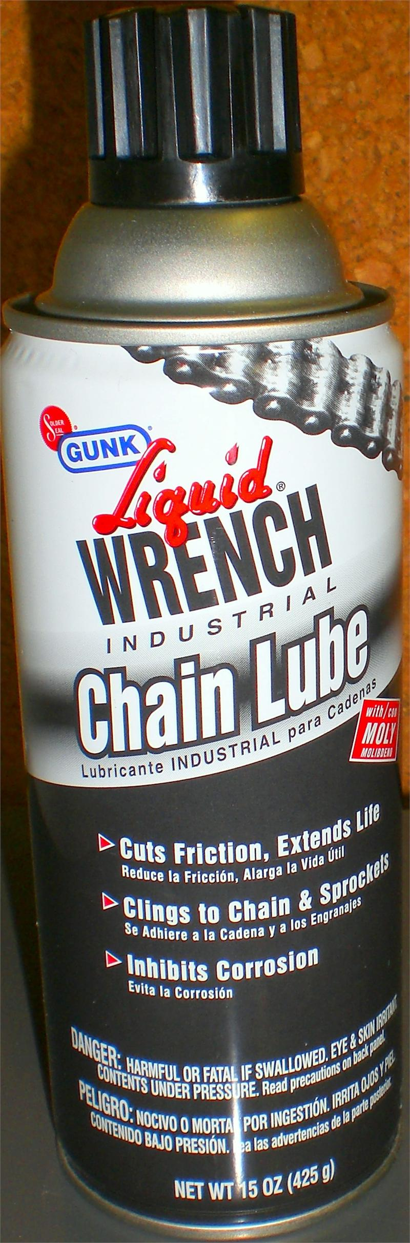 O Ring Lubricant >> liquid Wrench Industrial Chain Lubricant